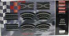 CARRERA 26953 EXTENSION SET 1 1/24 1/32 SLOT CAR TRACK 8 PIECES