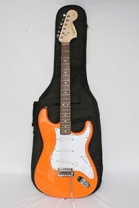 Fender Squire Stratocaster 6 string electric guitar with Case