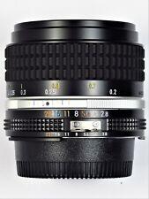 * Mint L/N * Nikon 28mm F2.8 Ai-s For F3 Fm2 Fe2 F2 D700 D600 Fm3A D750