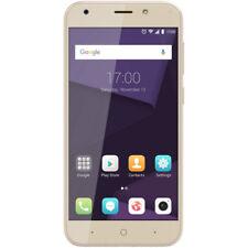 Teléfonos móviles libres ZTE oro de cuatro núcleos