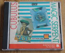 Commodore cdtv Cubulus & MAGIC Serpent (Amiga, 1991, Jewel-Case)