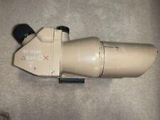 Vintage Wwii Tank Binoculars, Axis/German, Tan, D.F. 10 x 80, beh 8378 F. As Is
