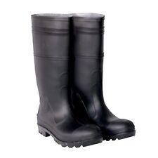 CLC Rain Wear R23008 Over The Sock Black PVC Men's Rain Boot, Size 8