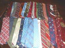 Lot of 36 Men's Neck Ties Assorted Colors and Sizes