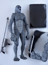 SIDESHOW 8'' MONSTER FIGURE: CREATURE FROM THE BLACK LAGOON - SILVER SCREEN ED.