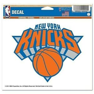 3/'/' or 5/'/' New York Knicks Basketball Car Bumper Sticker Decal