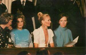 Mrs. Jimmy Carter Postcard Mrs. Omar Torrijos  Mrs. Orfila Panama Treaty 1978