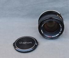 CANON LENS FD 50mm 1:1.4 S.S.C. OBJECTIF LENS