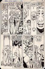 New Teen Titans Annual #1 Art by George Pérez - Starfire Raven Robin Kid Flash