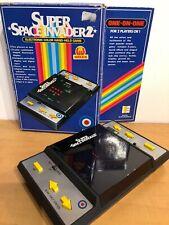 Vintage Entex Super Space Invaders 2 Electronic Handheld Game Nintendo UltraRare