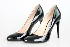 AUTHENTIC LUXURY PRADA PUMPS SHOES 1I627D BLACK NEW 38 38,5