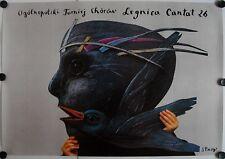 Affiche Polonaise LEGNICA CANTAT 26 - 1995 STASYS