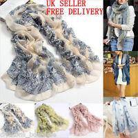 New Chiffon Womens Ladies Vintage Long Scarf Neck Shawl Wrap Scarves