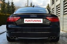Audi A5 S5 Scarico Sportivo S-LINE RS5 Endschalldaepfer B8 Coupe 80mm