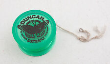 Duncan Butterfly Yoyo Green Vintage USA Made (C4R)