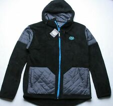 686 Sherpa Full Zip Hoody (L) Black