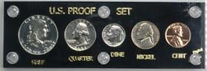1953 US Proof Set in Capital Holder No Reserve Auction .99C Opening Bid