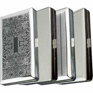 Cigarette Case Super King Size Metal Box Holder Big Cases Tobacco 18 Cigarettes
