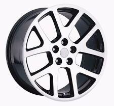 "4 20"" Black Machine Viper Jeep Commander Cherokee Wrangler Wheels Rims & Tires"