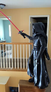 "Lucas Film Disney Star War 14"" Darth Vader Talking Figurine with Sword"