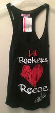 Supre Size M/12 Lil Rockers Love Reece Mastin Racerback Singlet Top  BNWT