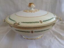 MEITO Elba Porcelain Hand Painted Covered Casserole Dish Fine China Japan