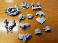 Warhammer 40k Space Marine Armory Bits: Rhino Storm Bolter Pilot w/Hatch Damaged