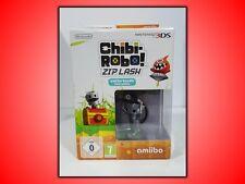 CHIBI-ROBO! ZIP LASH + AMIIBO PER  NINTENDO 3DS E 2DS VERSIONE ITALIANA! NUOVO!