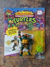 TMNT Teenage Mutant Ninja Turtles Wacky Action Rock N Roll Michaelangelo New '89