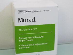 MURAD RESURGENCE RETINOL YOUTH RENEWAL NIGHT CREAM 50ML BNIB