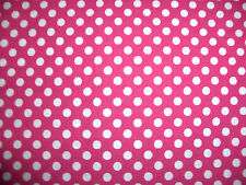 """1/4"""" Polka Dots 100% Cotton Quilt Fabric 8 Colors Available"""