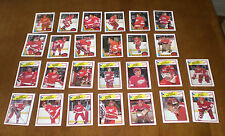 1987-88 & 1988-89 OPC DETROIT RED WINGS TEAM SETS