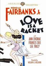 Love Is A Racket (1932) DVD Ann Dvorak/Frances Dee/Lee Tracy/Archive Collection