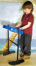 Free DVD! Steel Drum - Jumbie Jam - Calypso Pan for Adults or Kids! Blue Finish