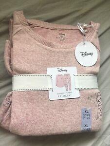 Primark Disney Tinkerbell Supersoft Pyjamas Size XL 18-20 Brand New