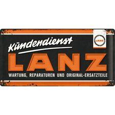 Nostalgic-Art 27022 Lanz - Logo Blechschild 25x50 Cm