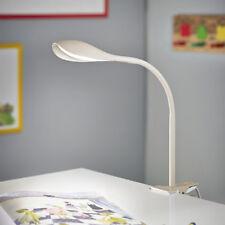 LED Schreibtischleuchte Tischlampe Klemmleuchte Klemmspot Leselicht Weiß T84-3