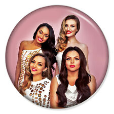 """LITTLE MIX 25mm 1"""" Pin Badge Button JADE PERRIE JESY LEIGH-ANNE (4)"""