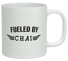Fueled by Chai White 10oz Mug Novelty Birthday Gift Birthday Gift Tea