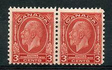 Weeda Canada 192i Fresh Fine mint H pair, Broken E (pl. 2 LR, pos. 87) CV $35+