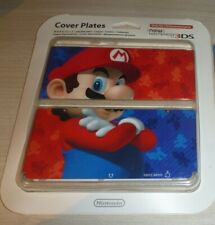 """Mario Nintendo """"New"""" 3DS Cover Plates Brand New/sealed for Japan 3DS import"""