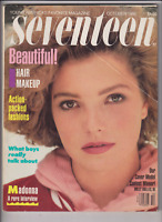 Seventeen Mag Madonna Holly Bolles October 1986 013020nonr