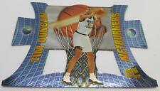 1997 NETBURNERS PRESS PASS TIM DUNCAN #NB1 WAKE FOREST BASKETBALL CARD