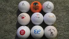 9 Aaaa - Aaaaa Vacation Destination Logo Used Golf Balls Titleist Pro V1