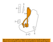 73220-53130-A1 Toyota Belt assy, front seat outer, lh 7322053130A1, New Genuine