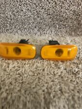 1986-1994 OEM SAAB 900 Classic and 9000 pair of side marker lights