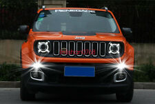 2x LED Driving Daytime Running Day Fog Lamp Light For Jeep renegade 2014-2016