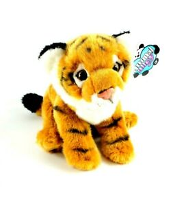 """Toys R Us Exclusive Animal Alley Tiger Cub Cat Plush 12"""" Geoffery Realistic NEW"""