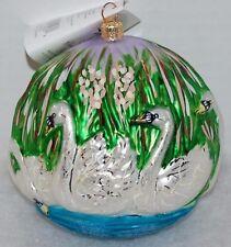 Radko Seven Swans A Swimming Christmas Ornament Ltd Ed 4,364/10,000 99-Sp-42
