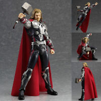 The Avengers Endgame Hero Thor Action Figure Figma 216# Toys + Hammer Boxed